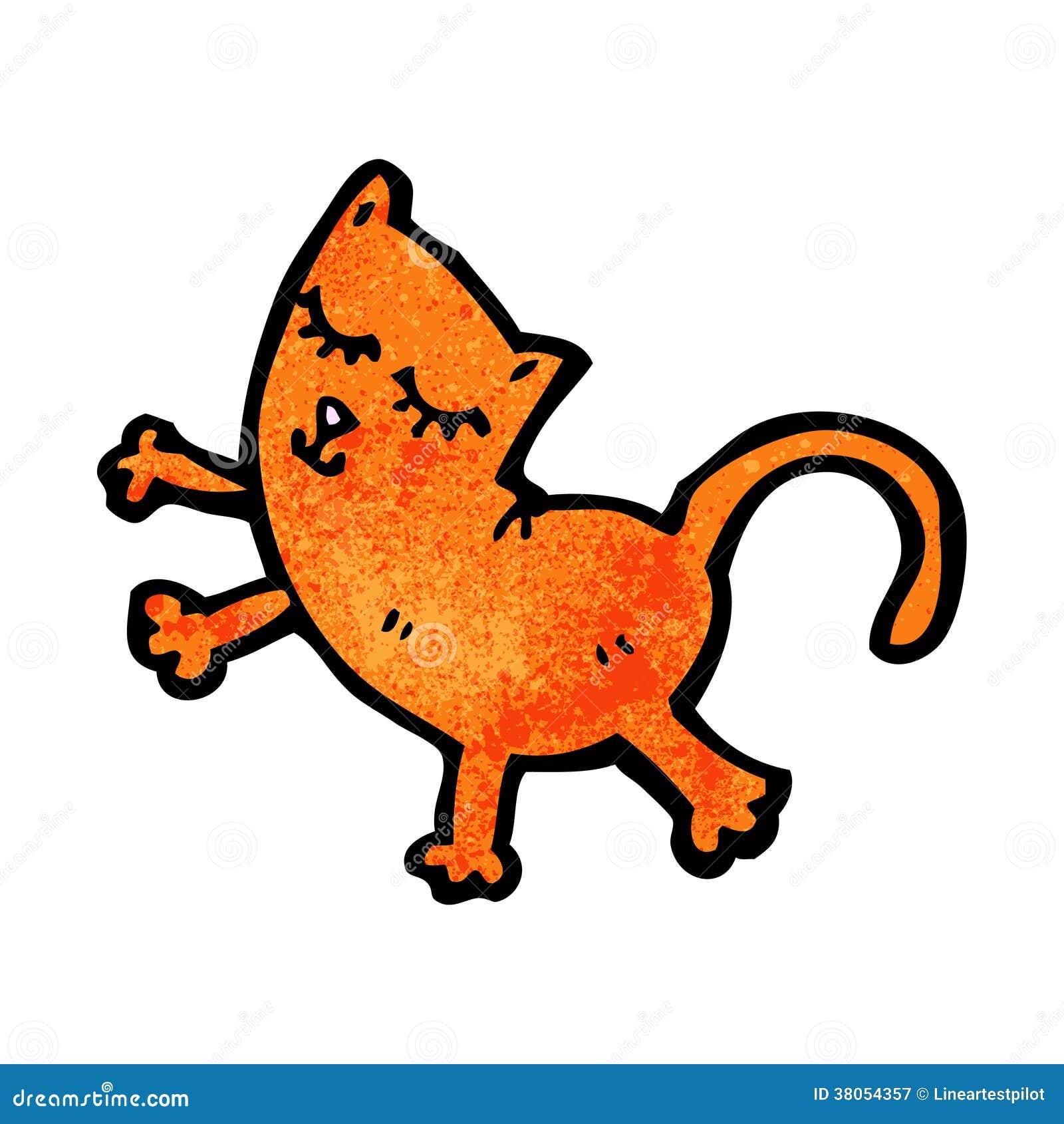 滑稽的动画片猫图片