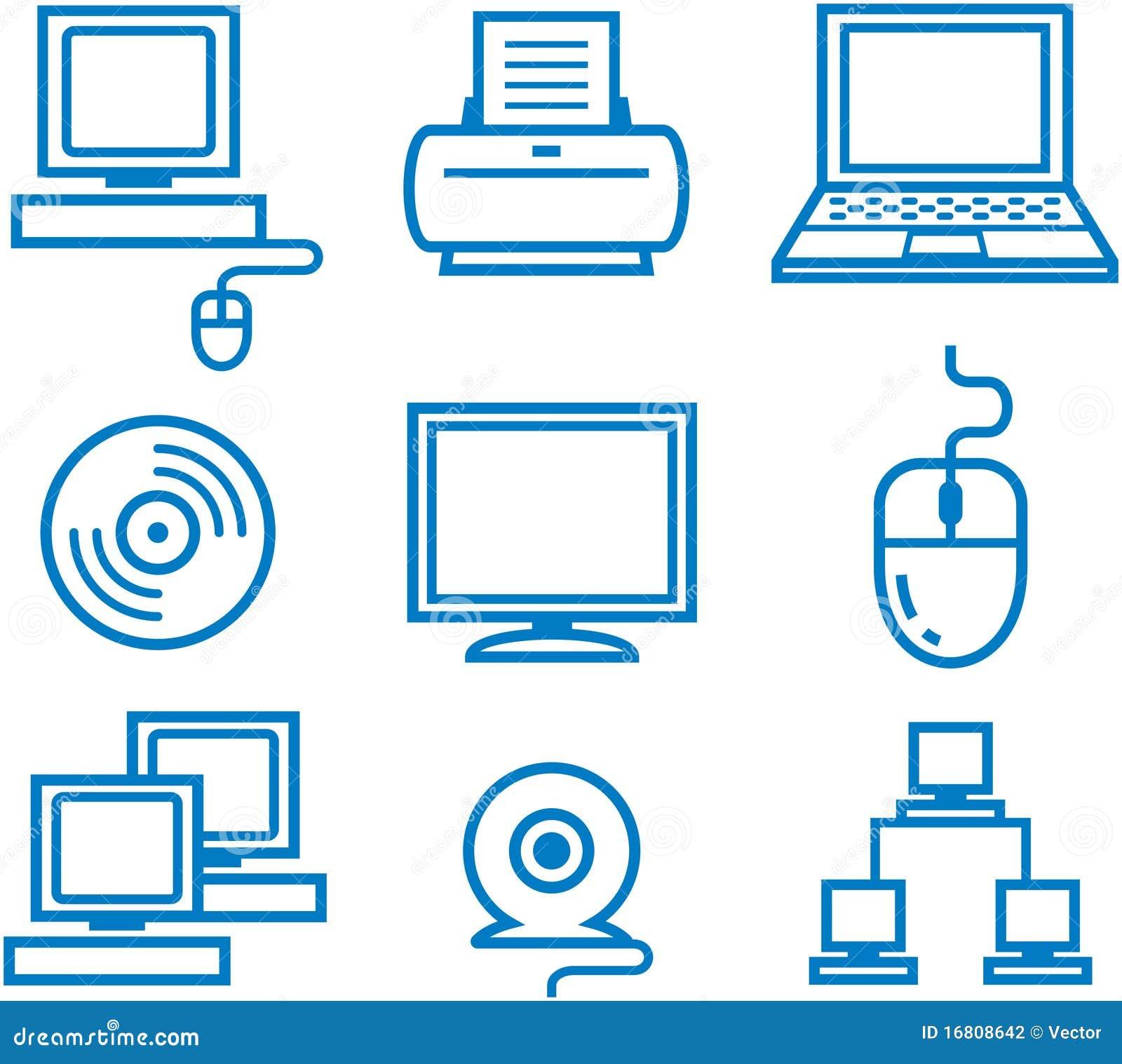 计算机电子办公室图片