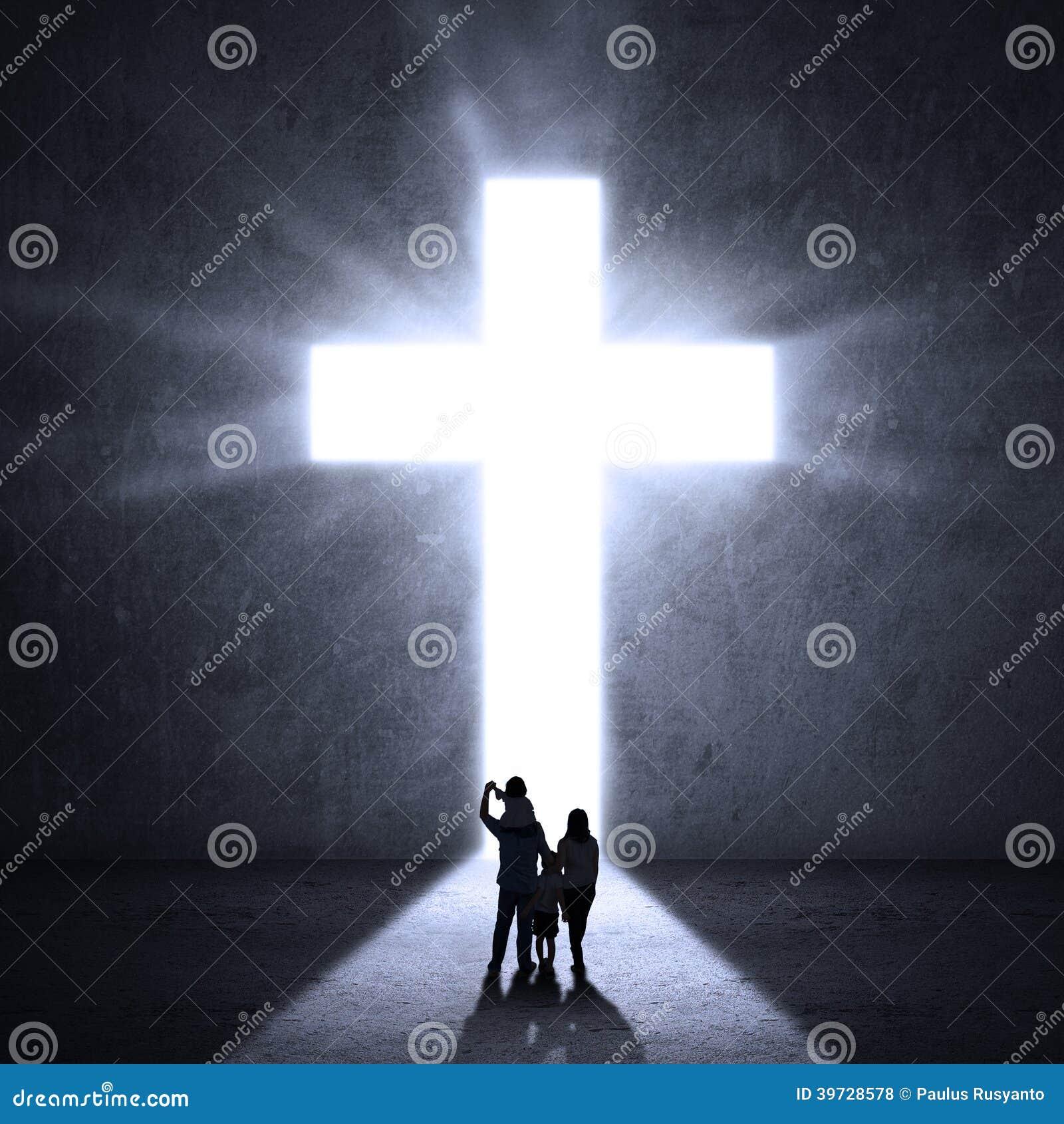 走往耶稣十字架的基督徒家庭