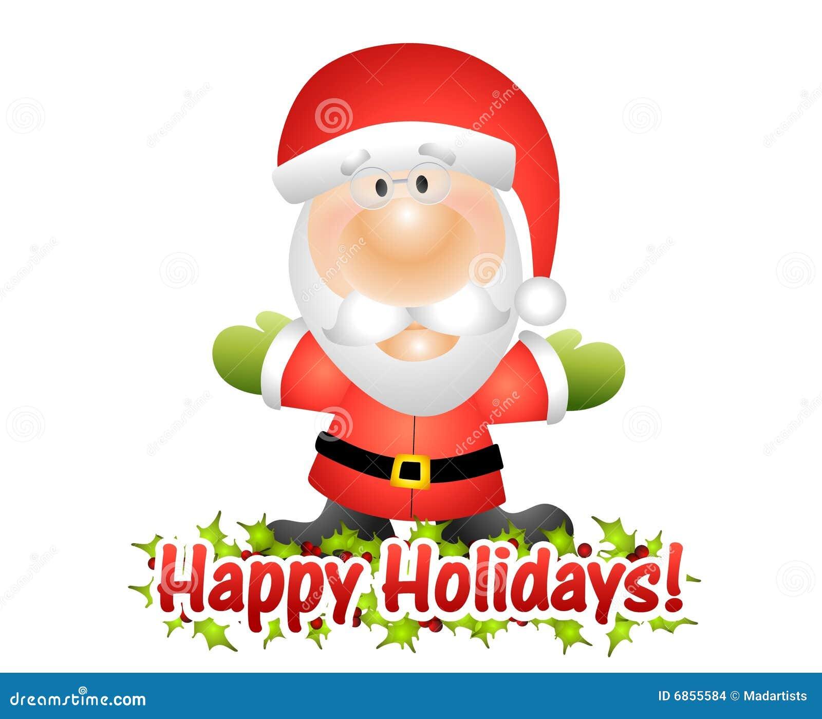 克劳斯节日快乐圣诞老人