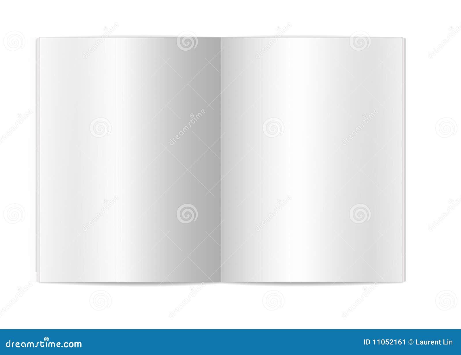 空白书页 库存图片 - 图片