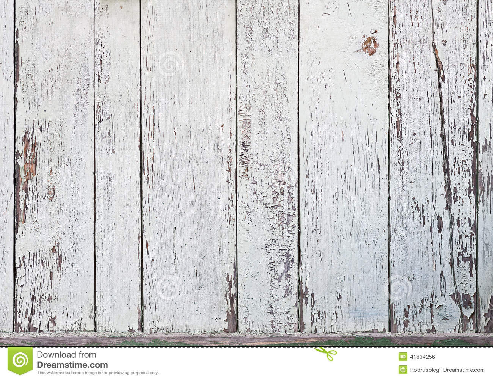 老白色木板条背景 库存照片