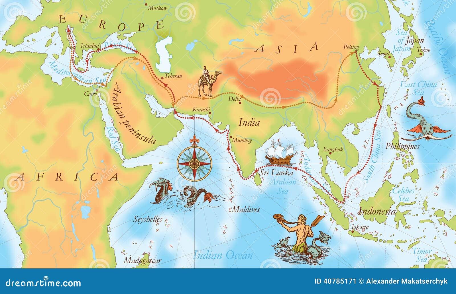 老海军地图 马可99波罗方式