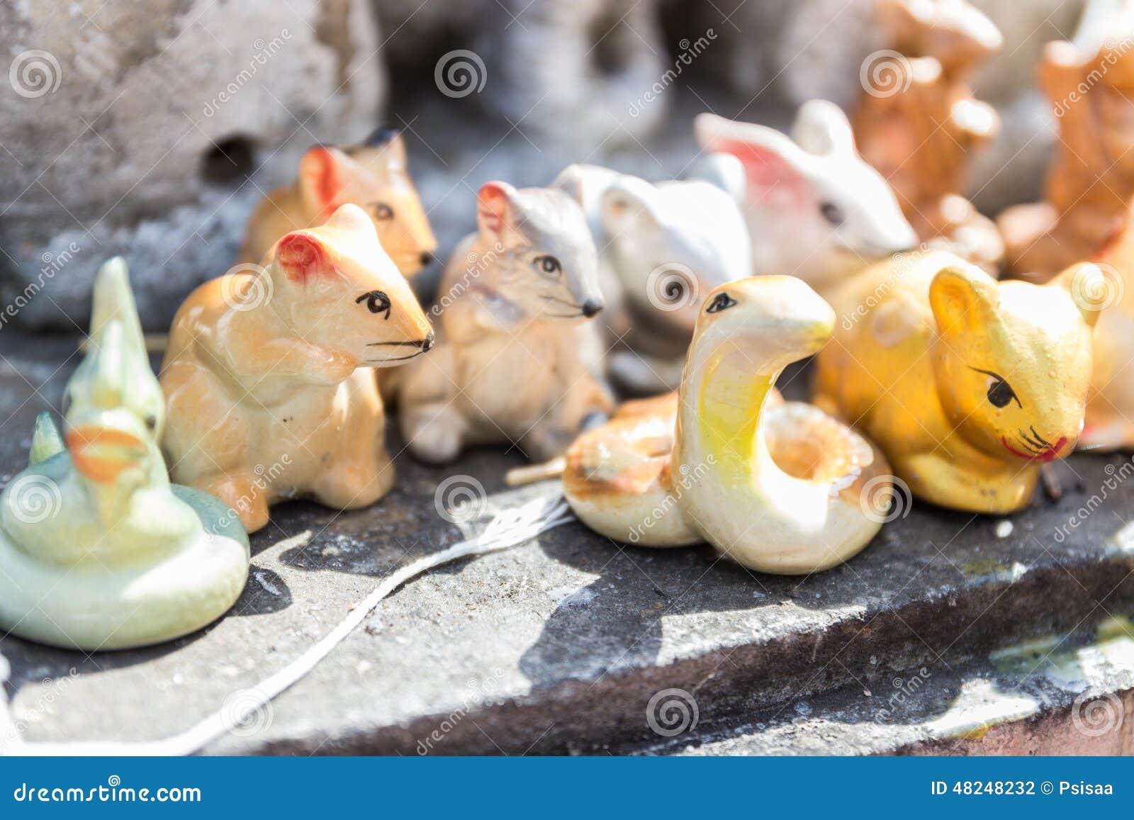 老虎,蛇,鼠,兔子小雕象