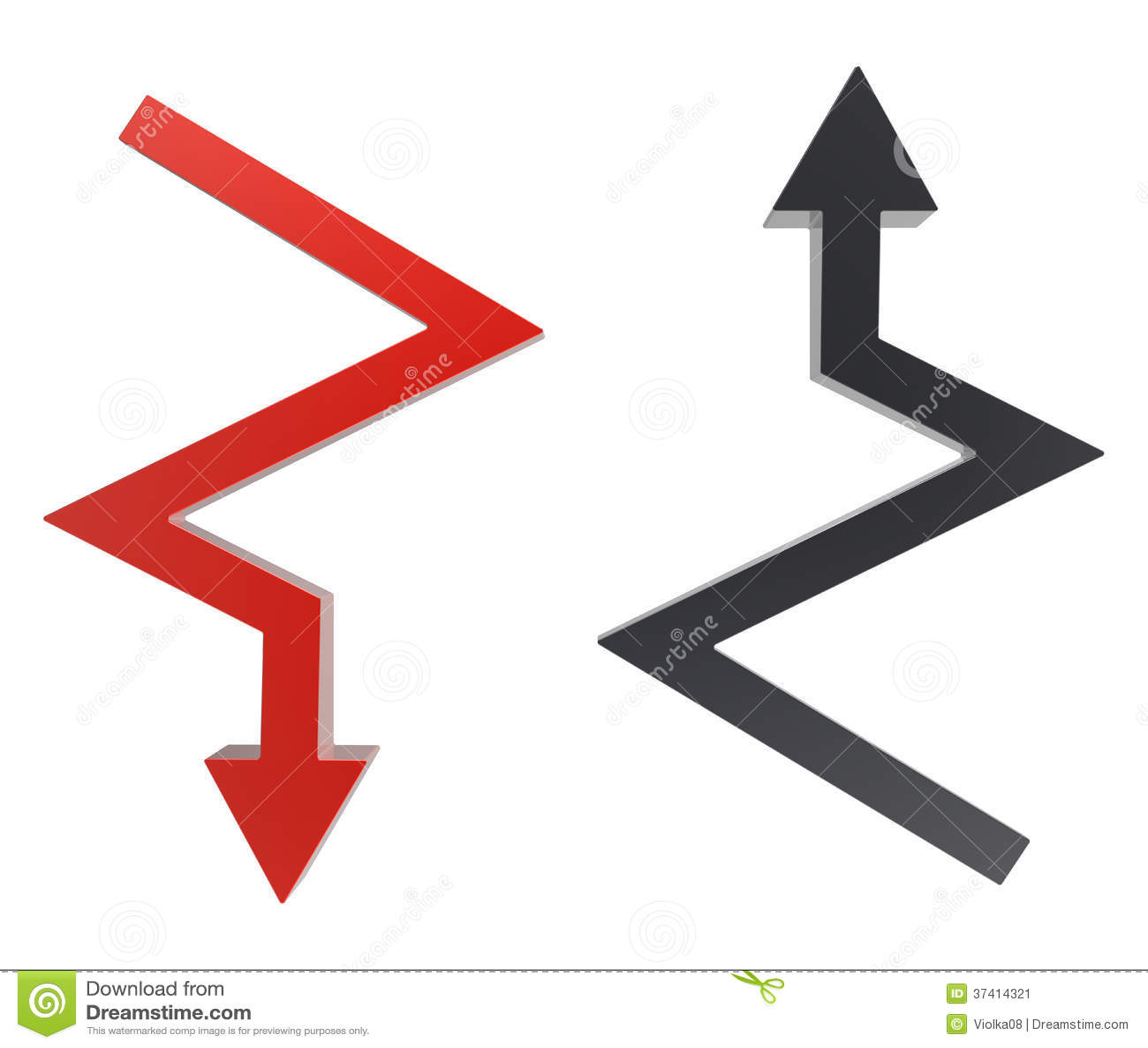 两个箭库存图-图