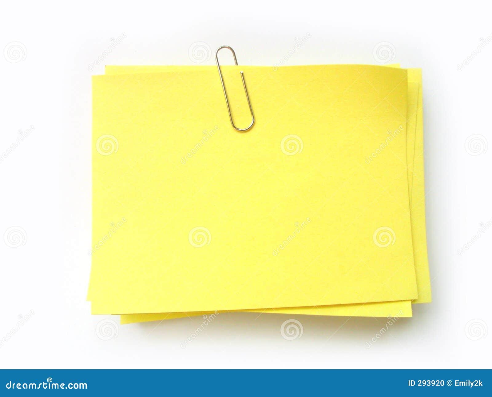 ¡Escriba la nota en ella!