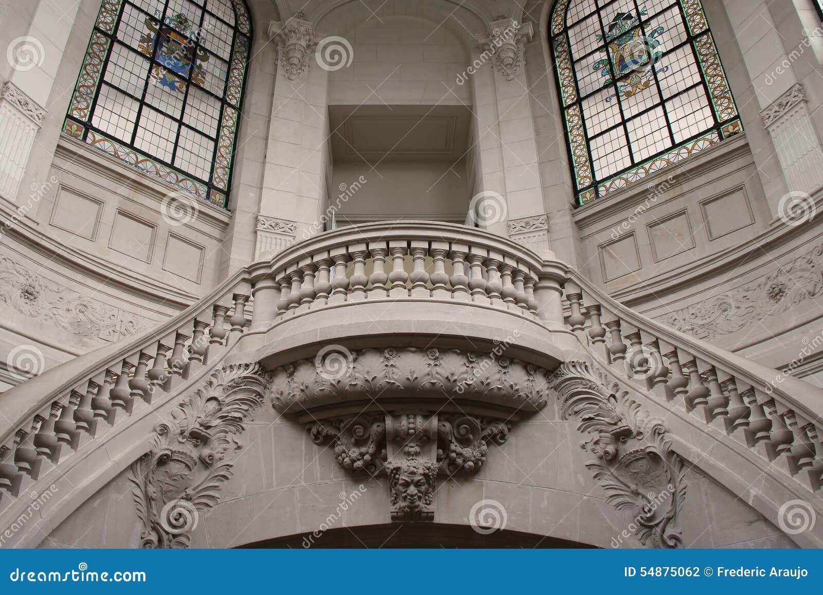 楼梯-美术画廊-里尔-法国图片