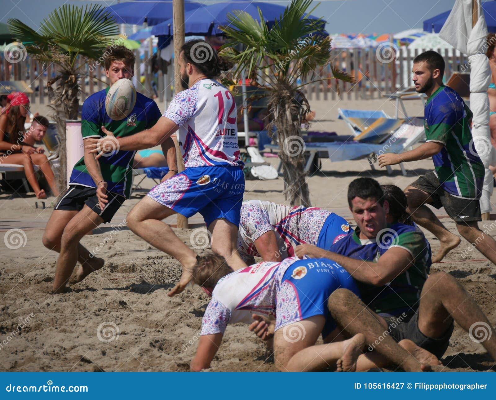 Beach rugby rosolina padova beachvs rosolina editorial