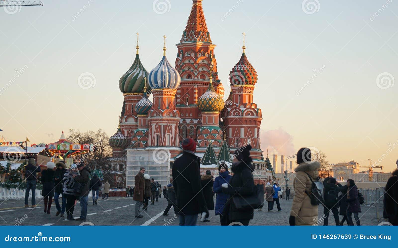 ¼ ŒChristian do Cathedralï da manjericão de ŒSaint do ¼ do churchï do russo