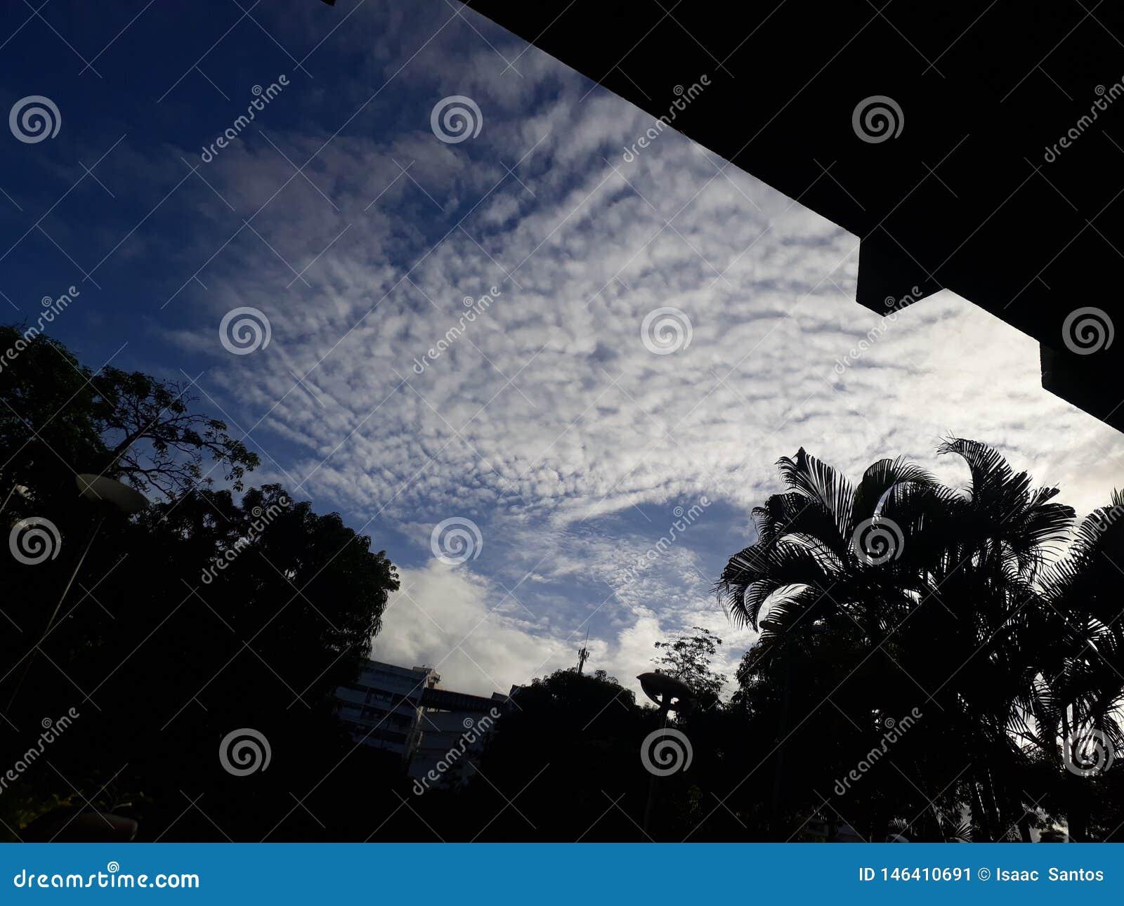 ¿Cómo sobre un cielo de la caída?