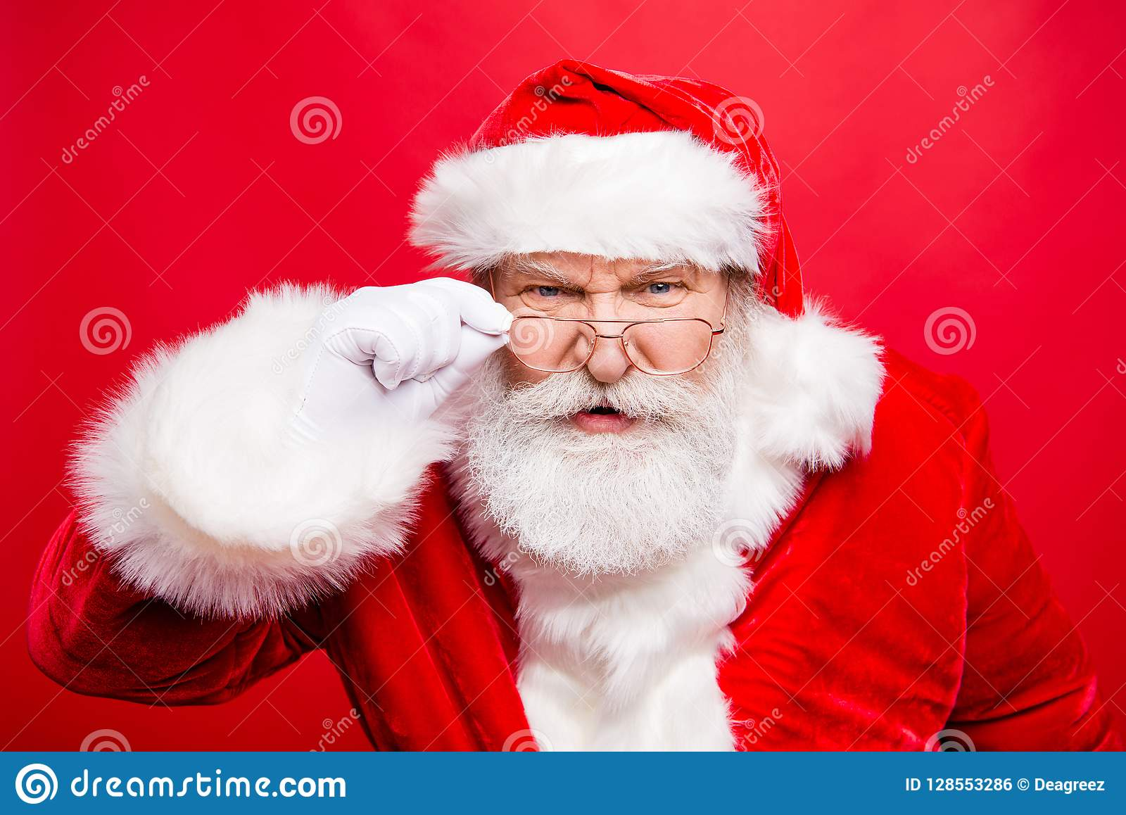 ¿Usted quiere un regalo? ¡Usted tiene mún comportamiento! Ciérrese encima del retrato del unh