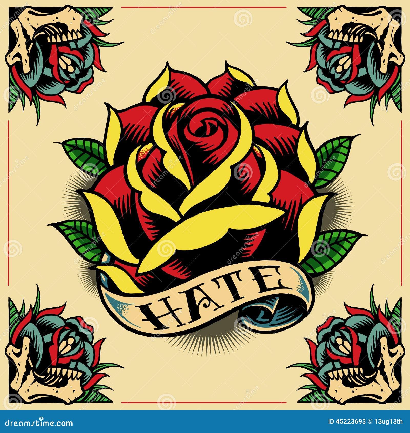 罗斯,丝带和玫瑰框架