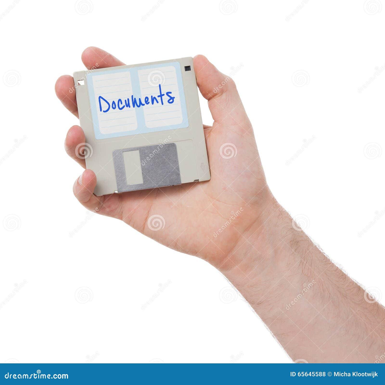 À disque souple, appui de stockage de données