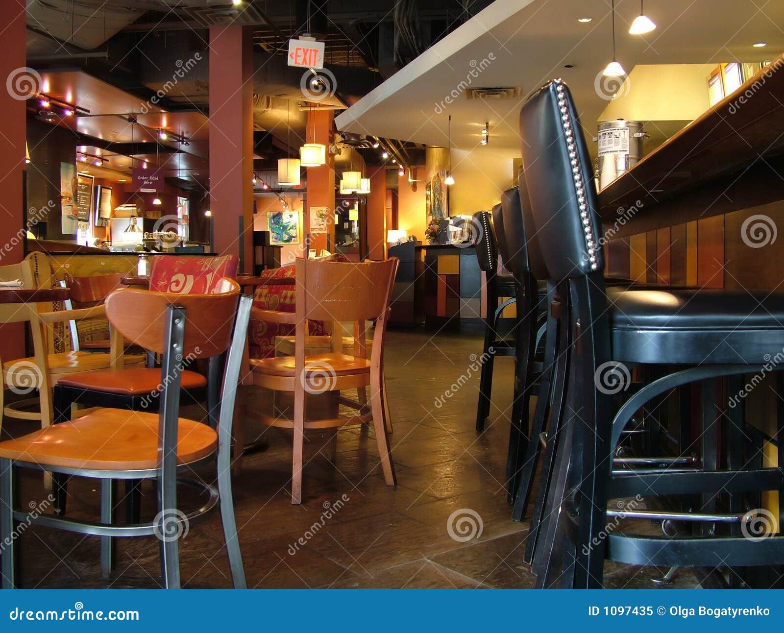 Interieur D Un Bar À l'intérieur d'un bar, restaurant image stock - image du