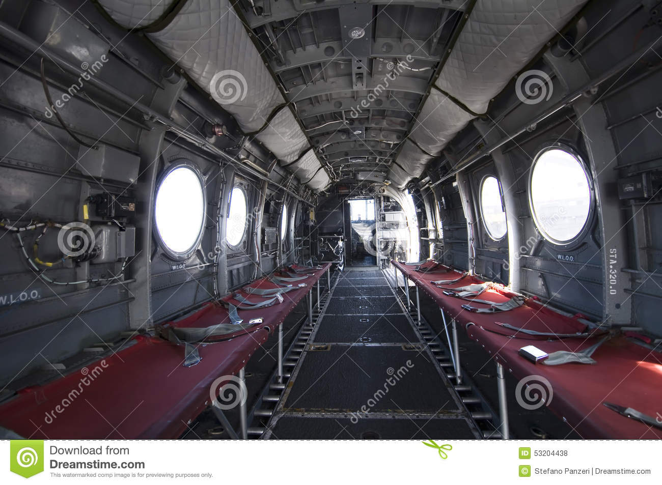 L 39 int rieur d 39 un h licopt re chinook photo stock for Interieur helicoptere