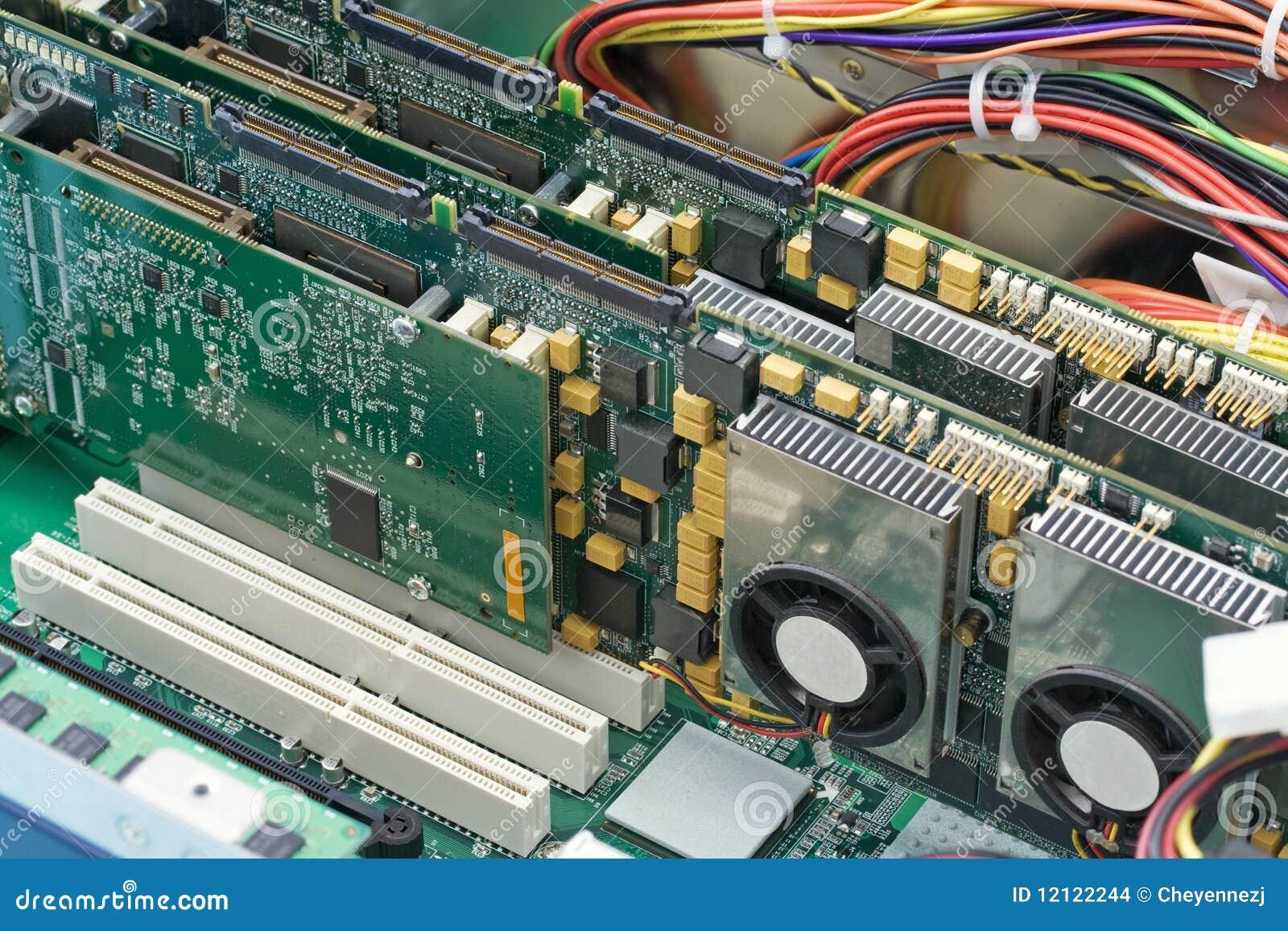 l 39 int rieur d 39 un ordinateur images stock image 12122244