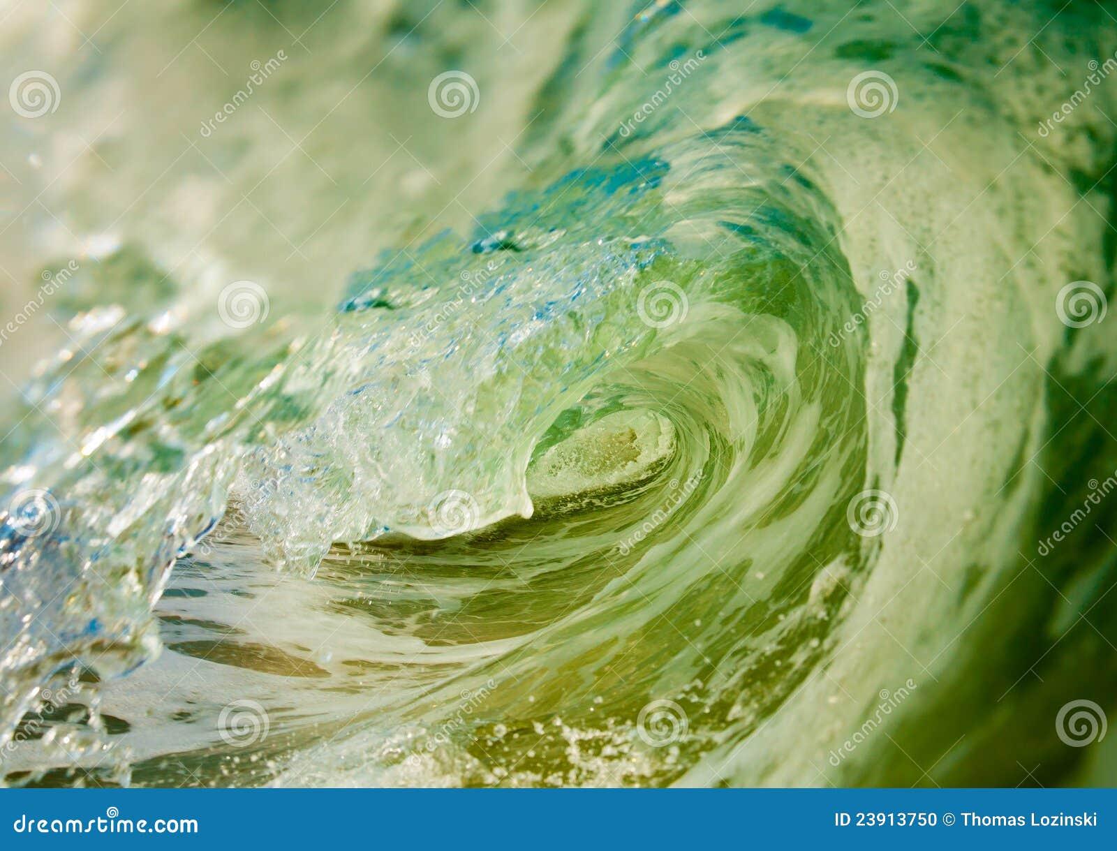 À l intérieur d une onde