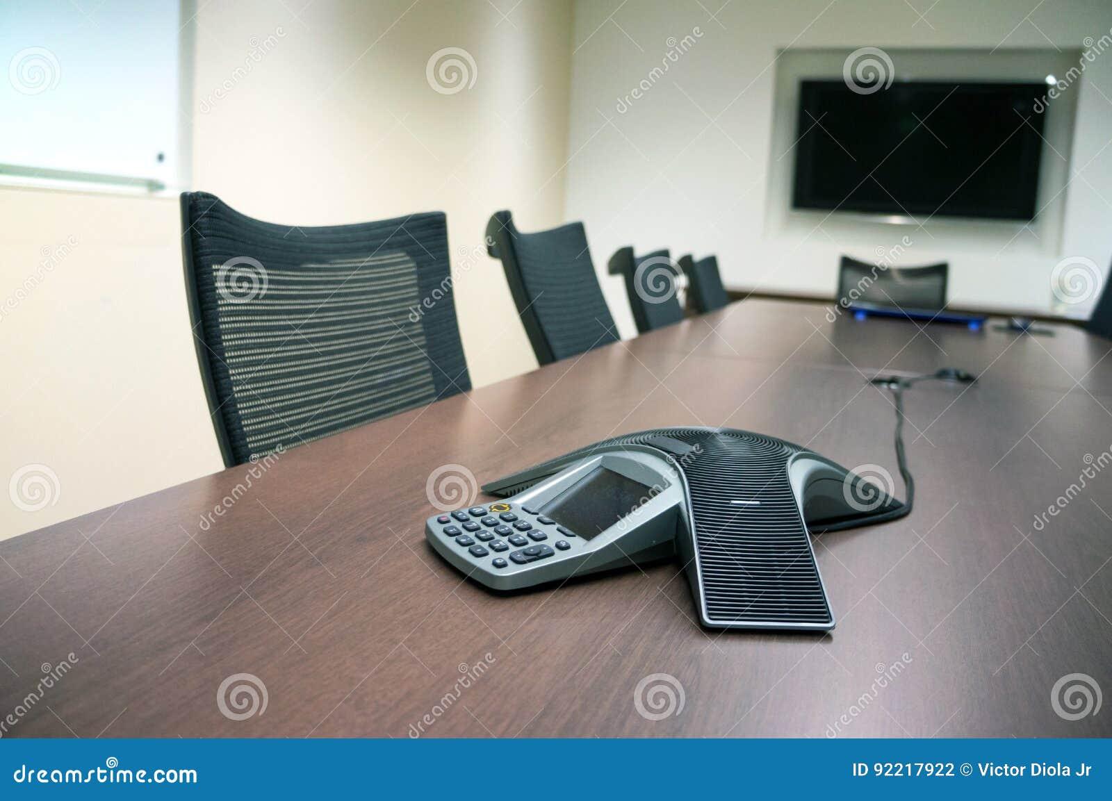 À l intérieur d une salle de conférence