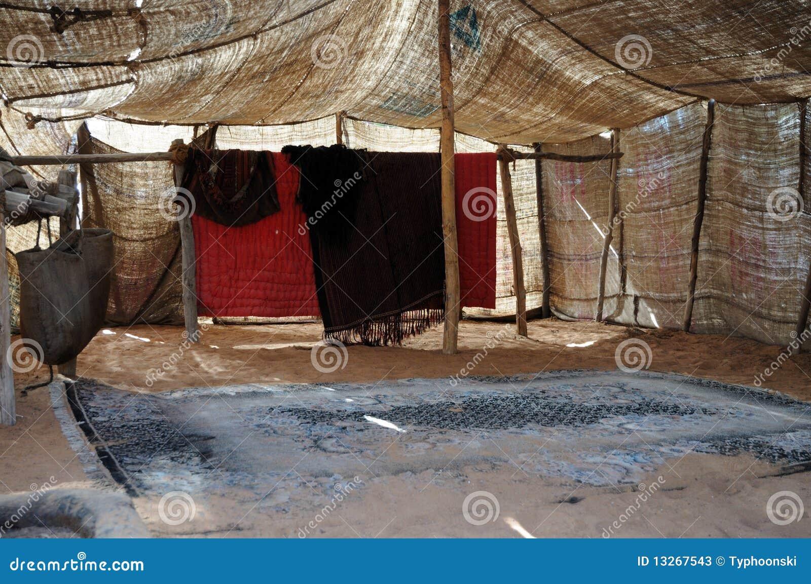 l 39 int rieur de d 39 une tente b douine photos stock image. Black Bedroom Furniture Sets. Home Design Ideas