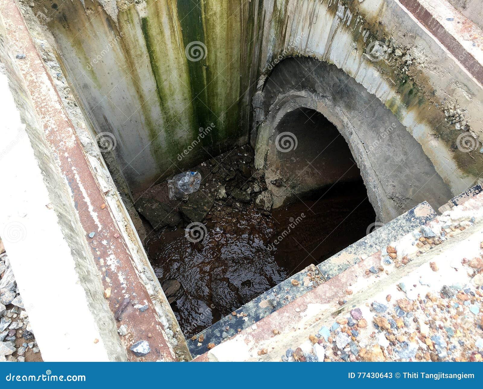 À l intérieur de du trou d homme