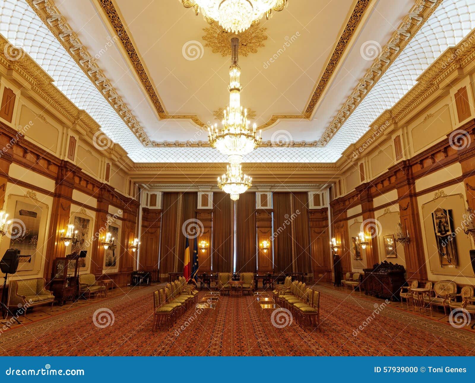 L 39 int rieur de la chambre du parlement bucarest la roumanie photo stock image du politics - Chambre interieur ...