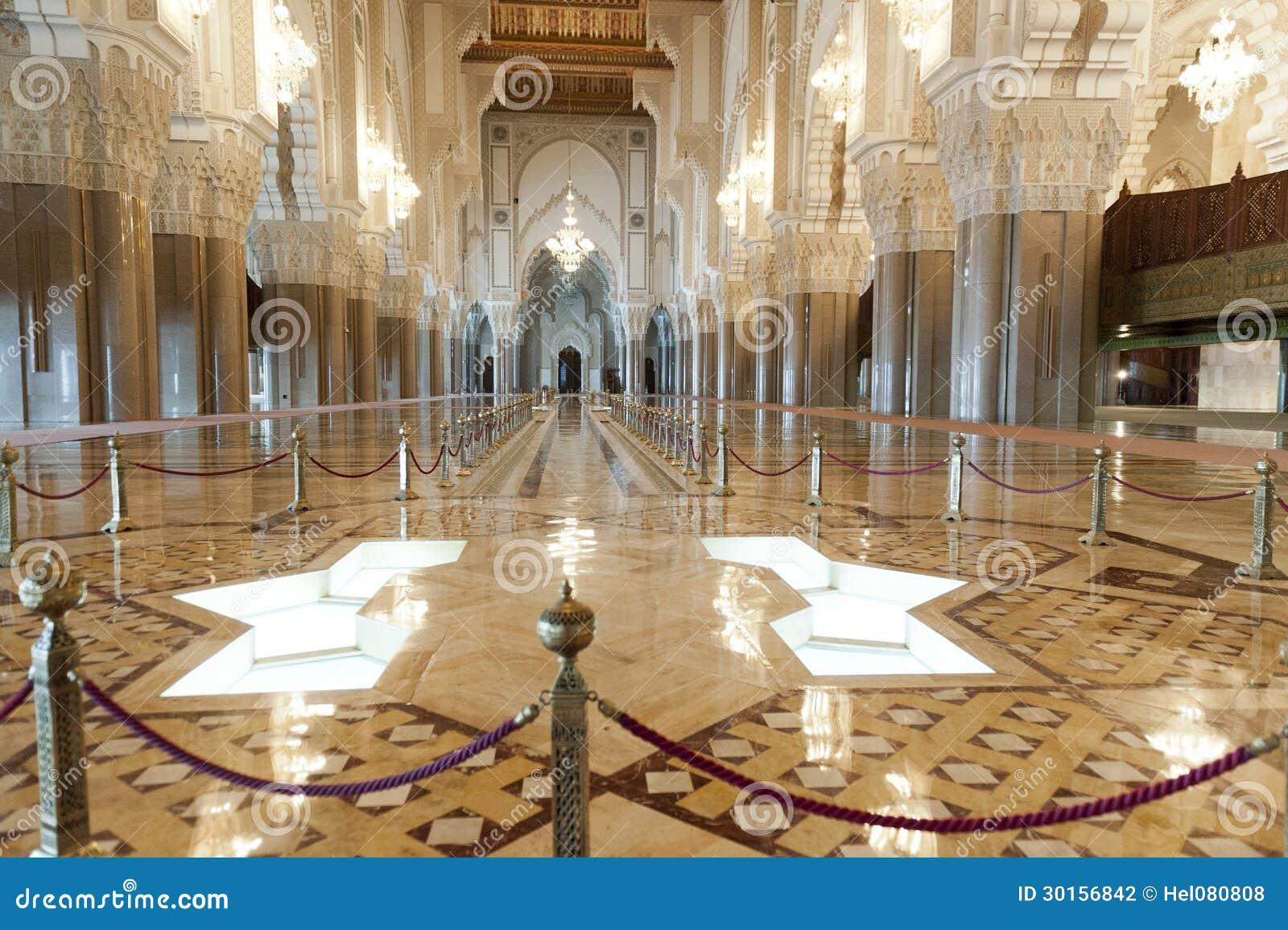 Mosqu e du roi hassan ii casablanca maroc for Mosquee hassan 2 interieur
