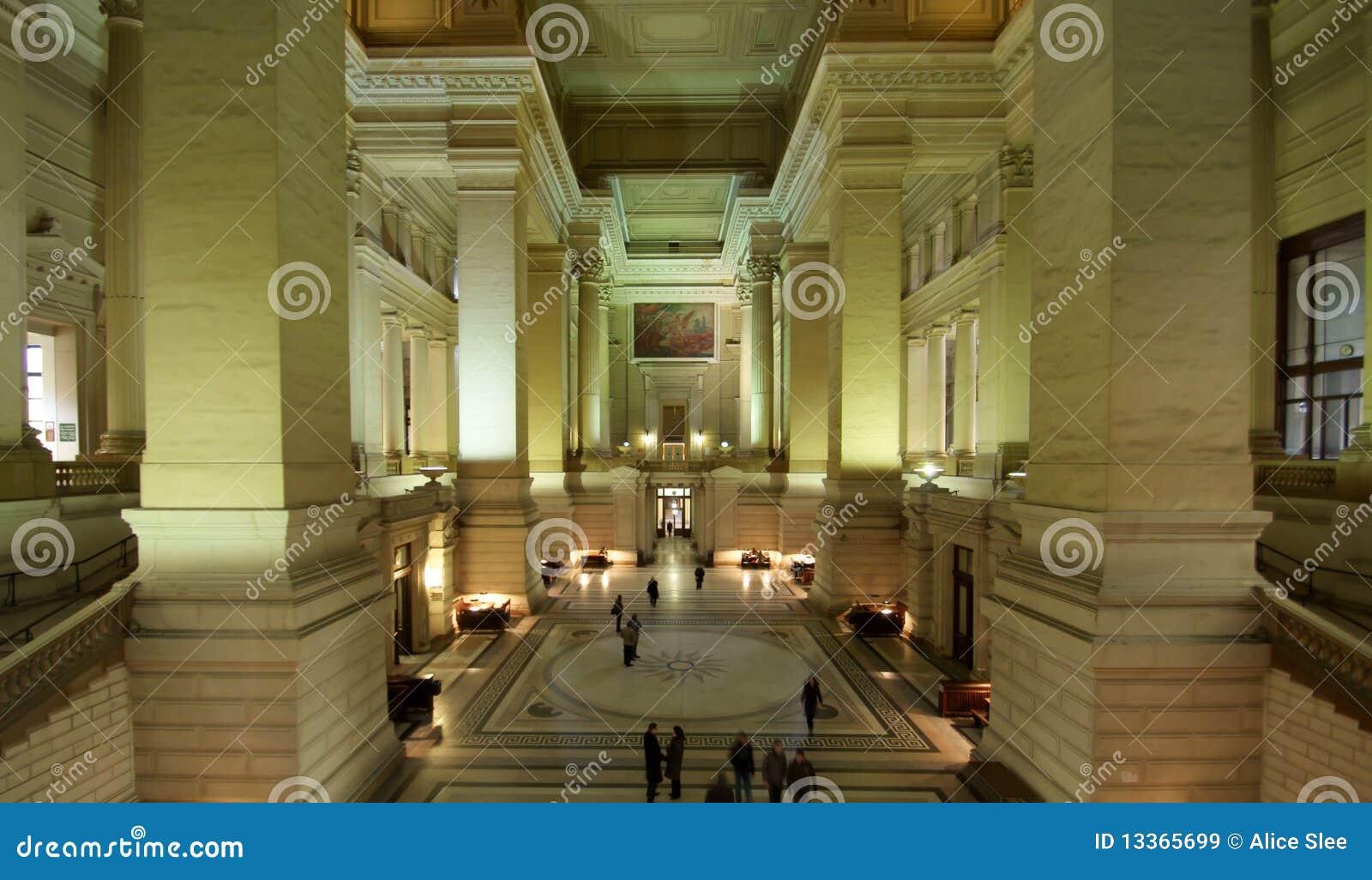 L int rieur de palais de justice bruxelles image stock for Architecture interieur bruxelles