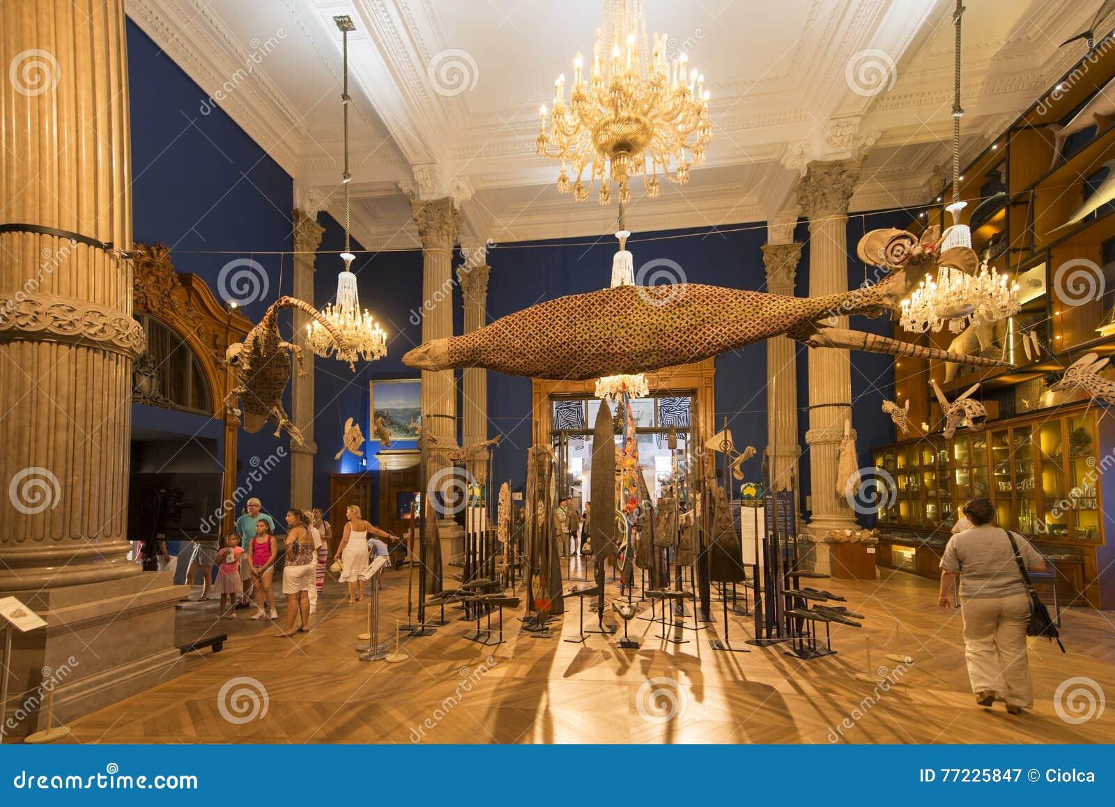 À L\'intérieur Du Musée Océanographique Du Monaco Photographie ...