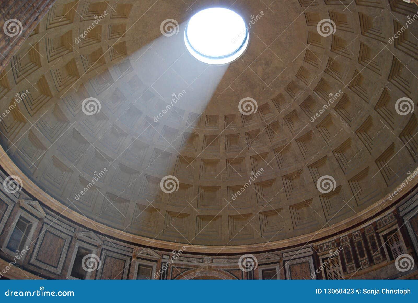 À l intérieur du Panthéon