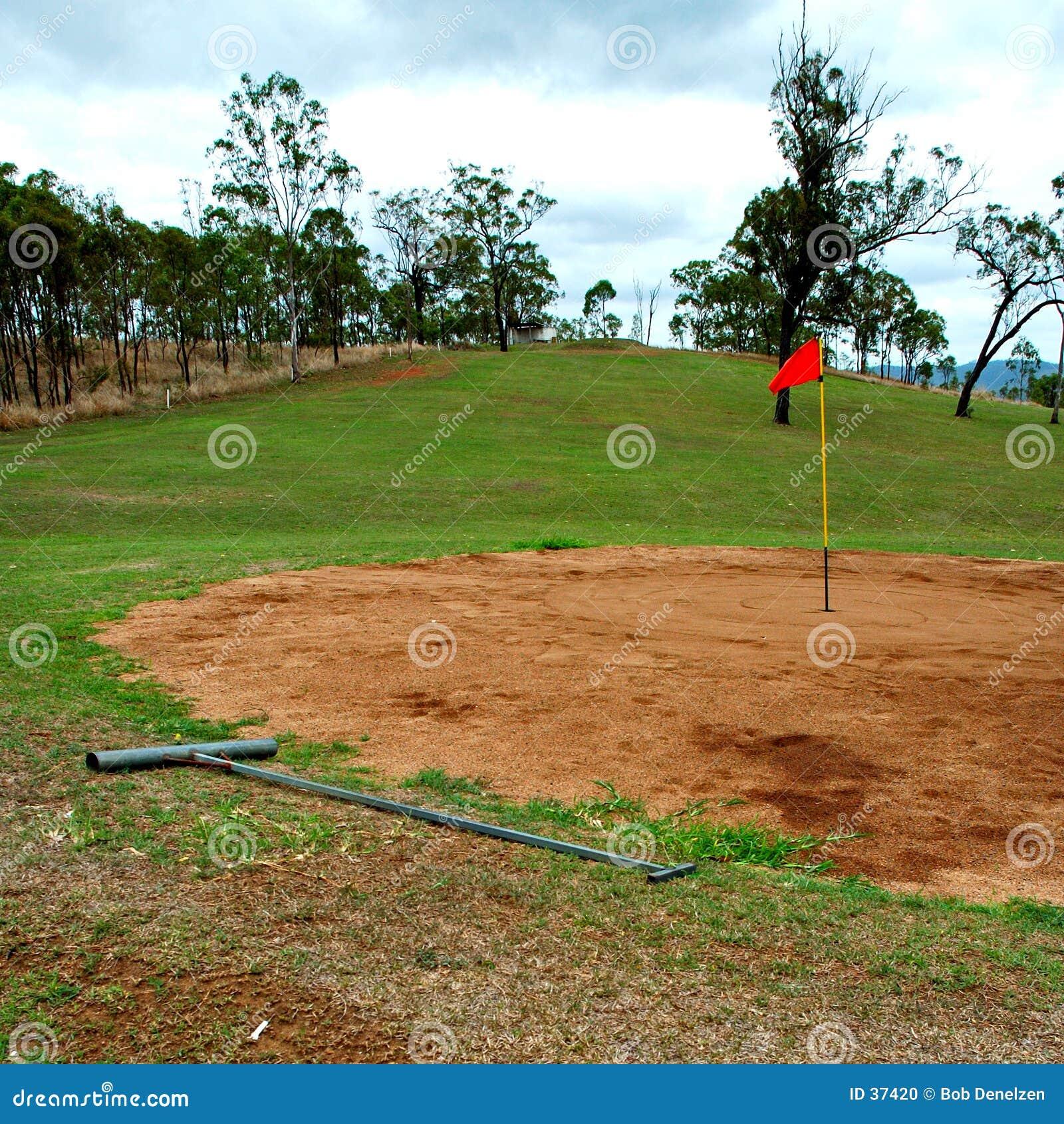 À l intérieur golf