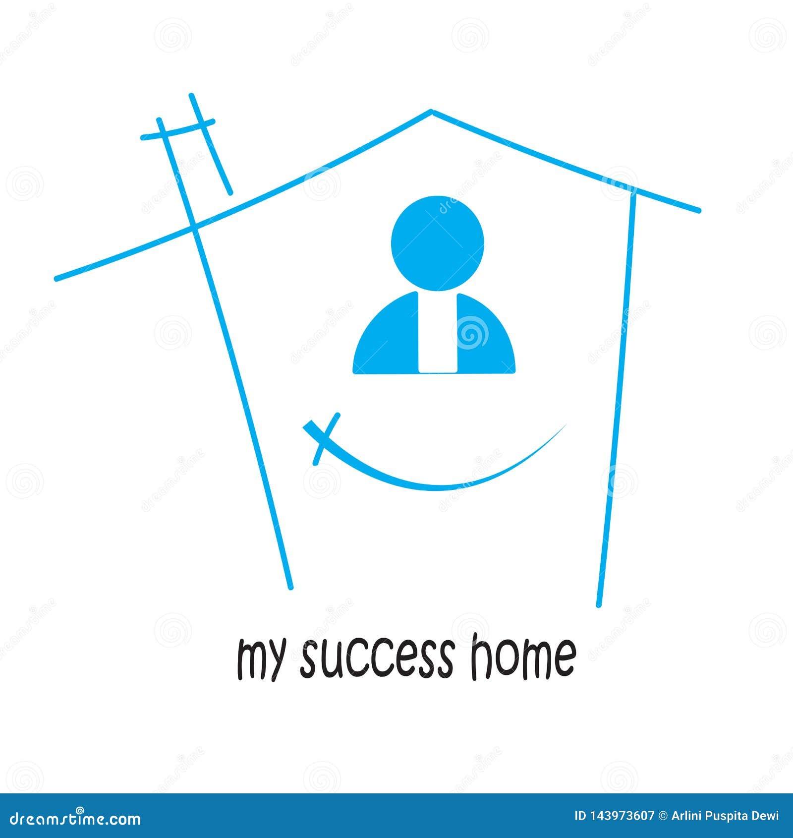 à la maison de mon succès et victoire Dans