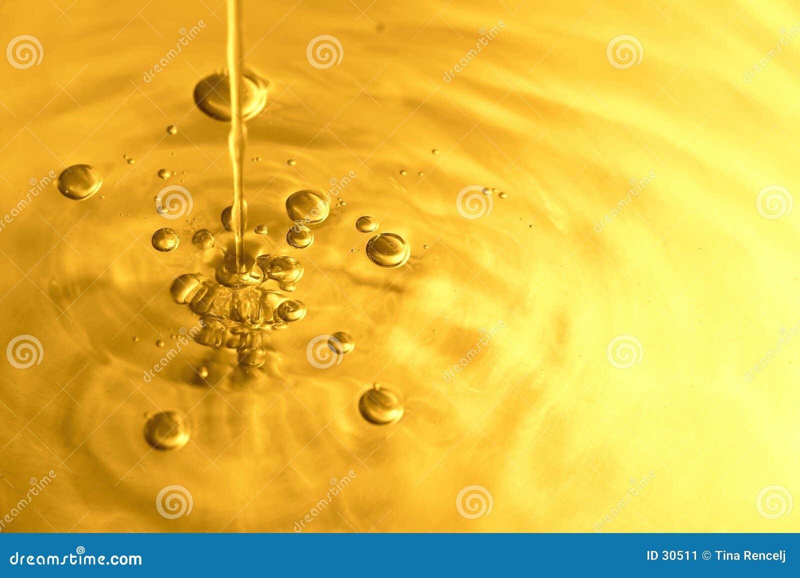 A água borbulha IV