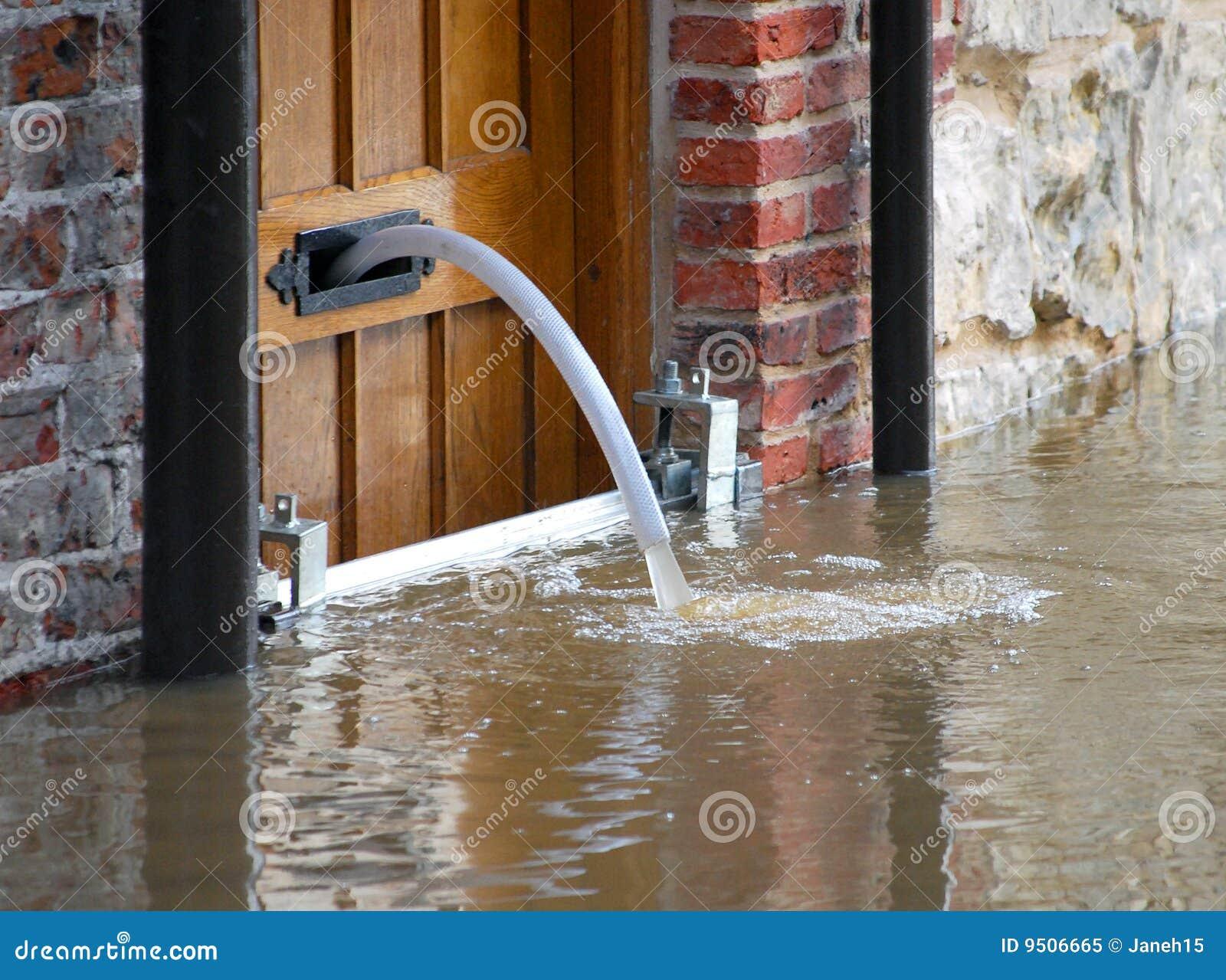 Água da inundação