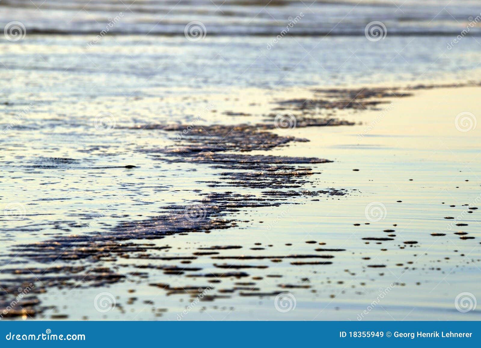 Água da praia