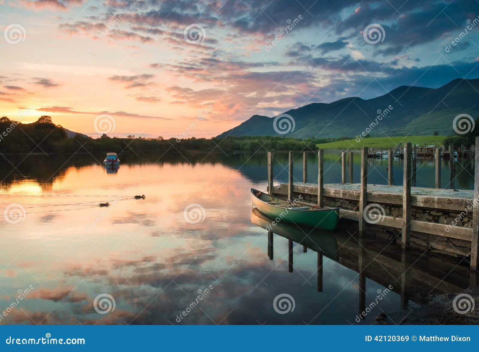 Água de Derwent, distrito do lago
