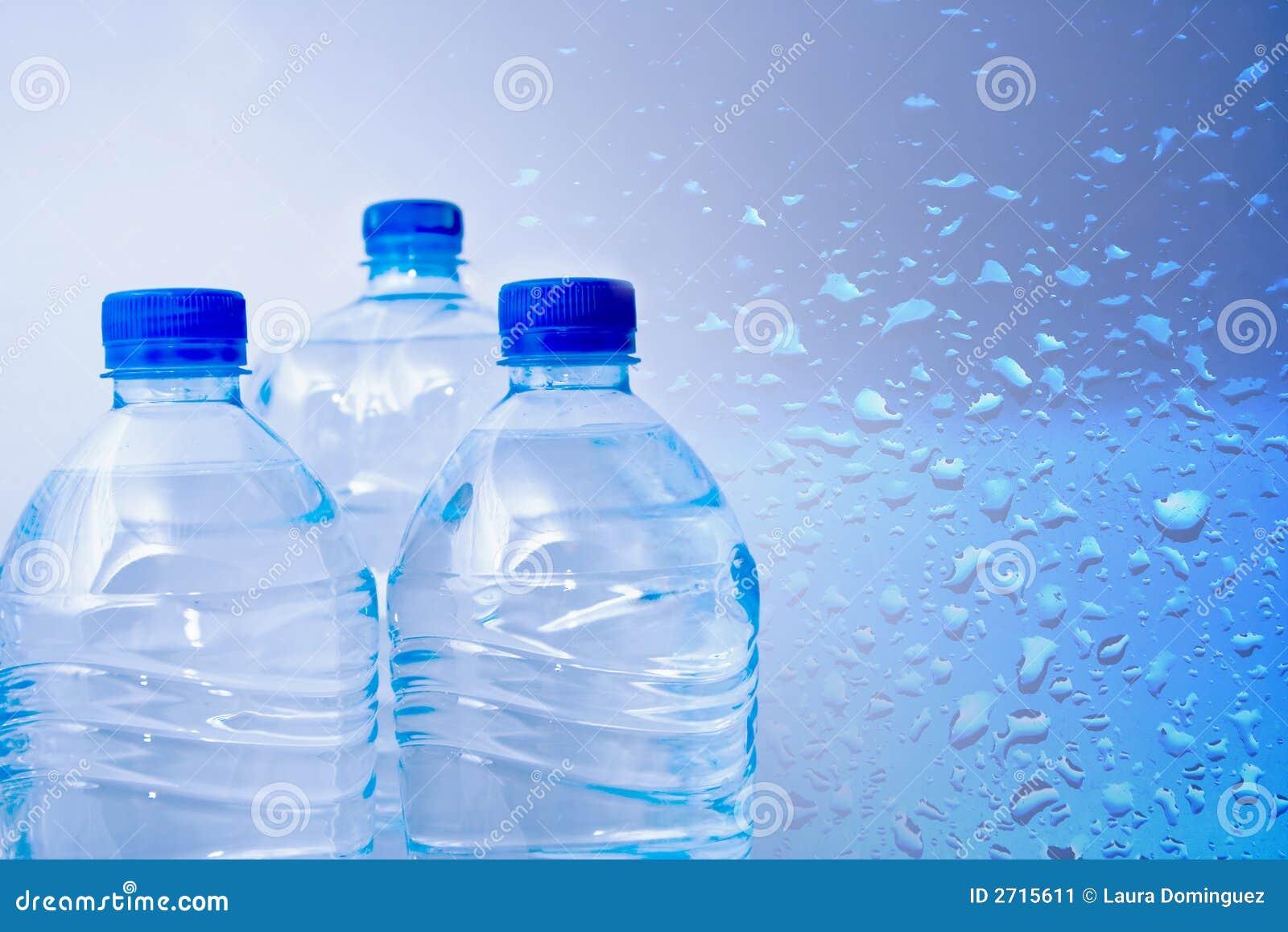 Água engarrafada