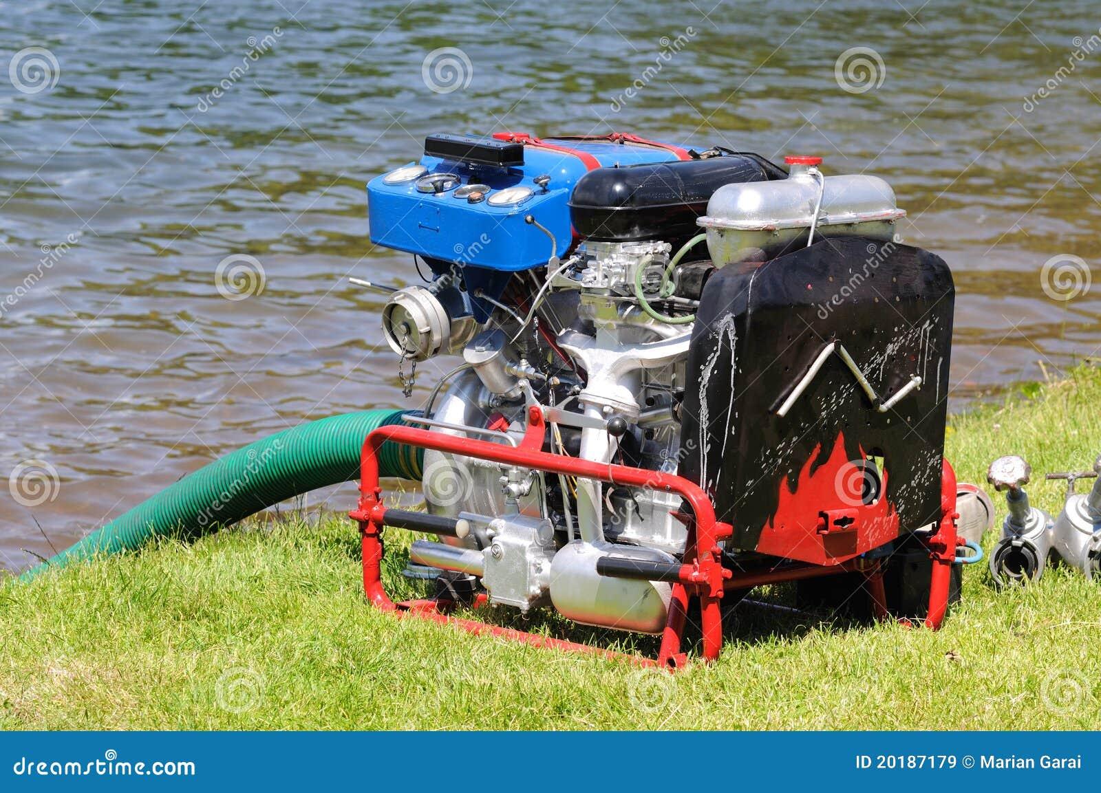 Água móvel da bomba de incêndio
