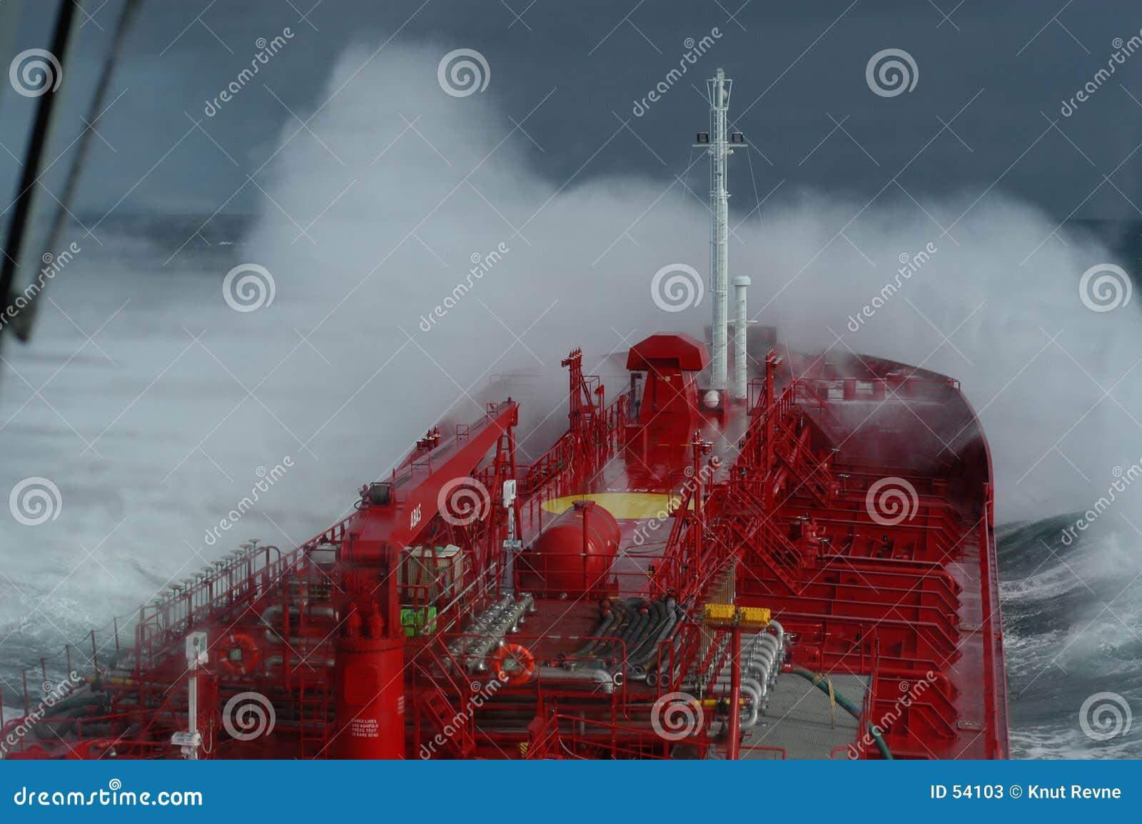 Águas tormentosos