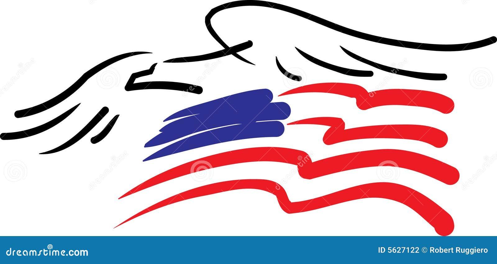 Águila e indicador americano