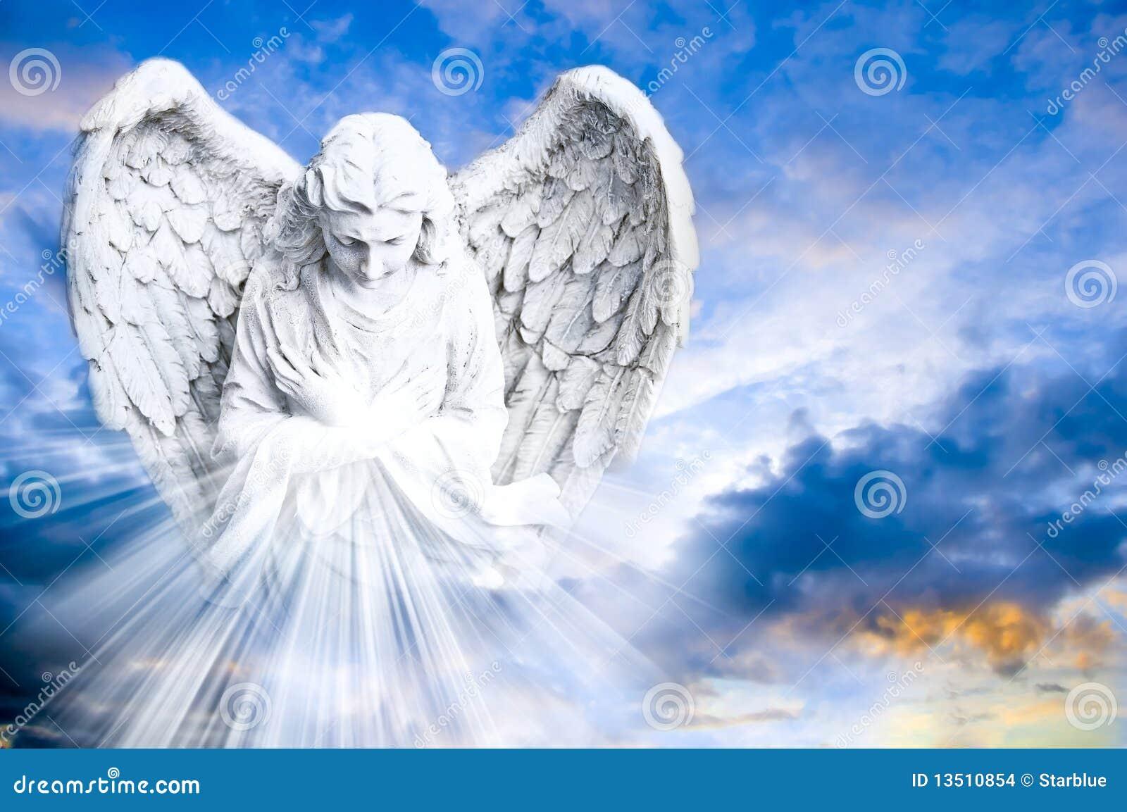 Ángel que trae la luz