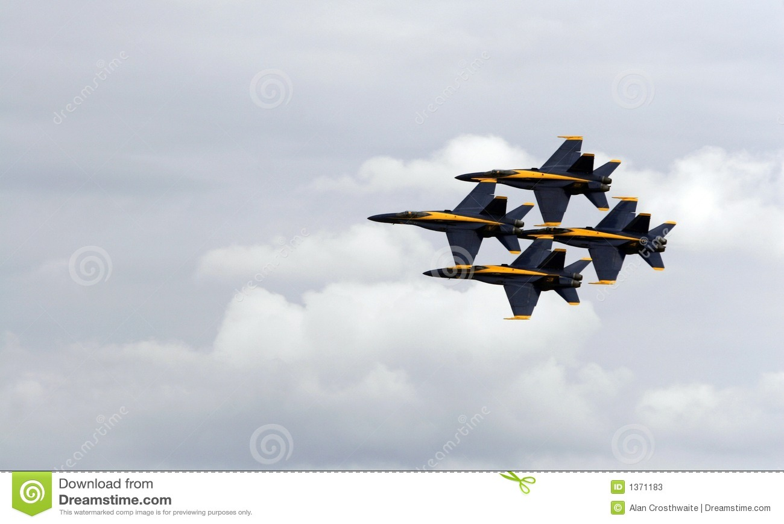 Ángeles azules de marina de los E.E.U.U.
