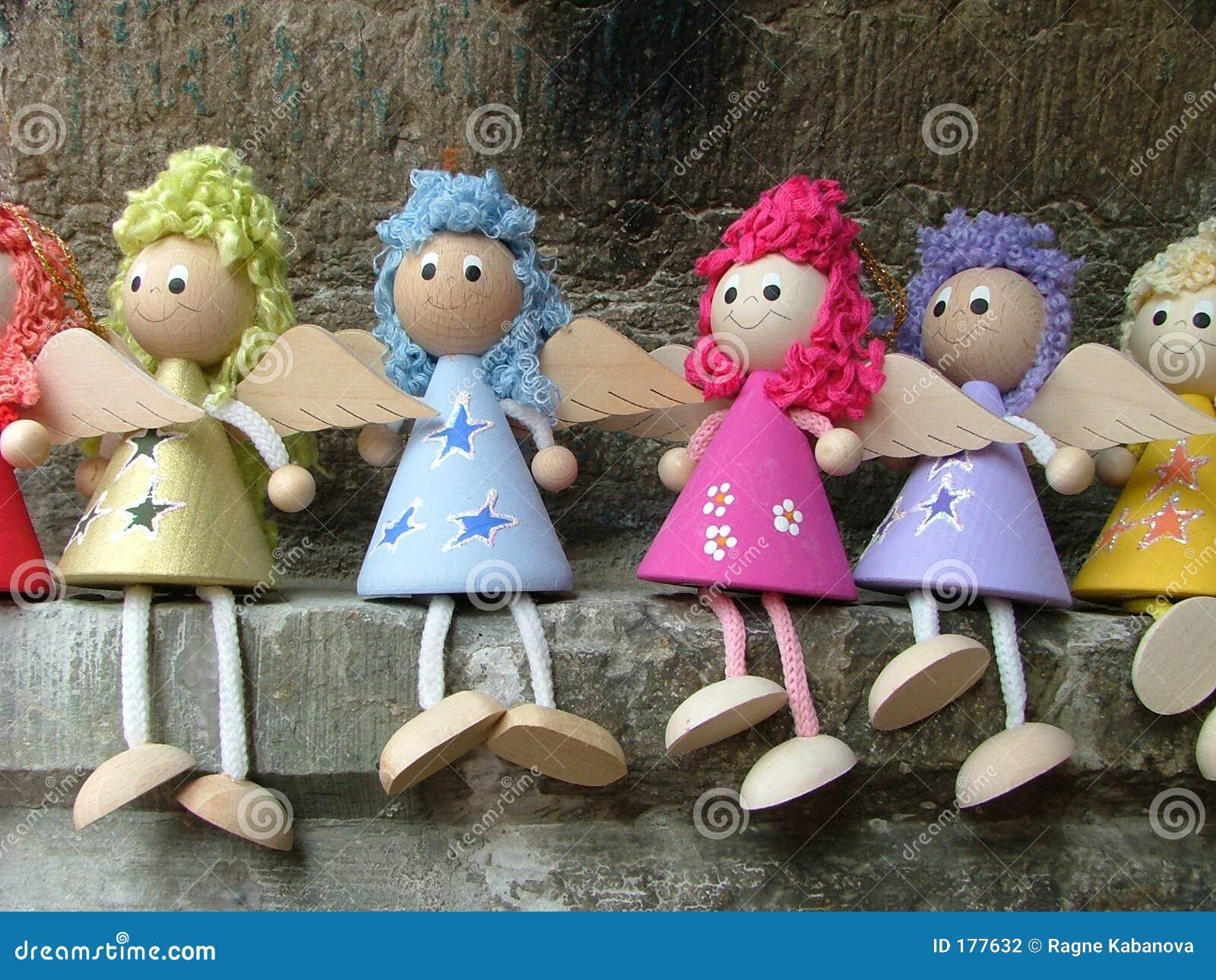 Ángeles de la muñeca