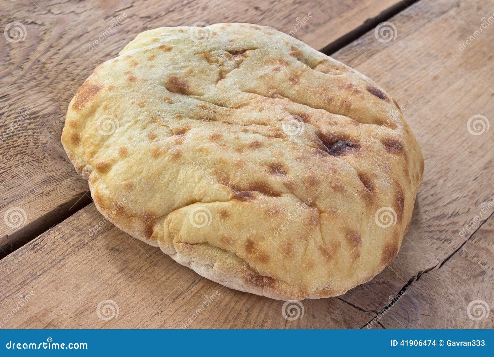 Árabe del pan - flatbread