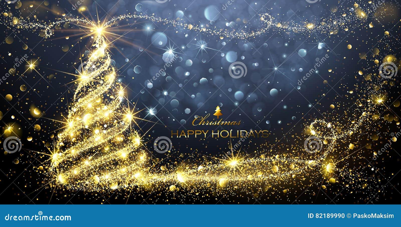 Árbol de la magia de la Navidad