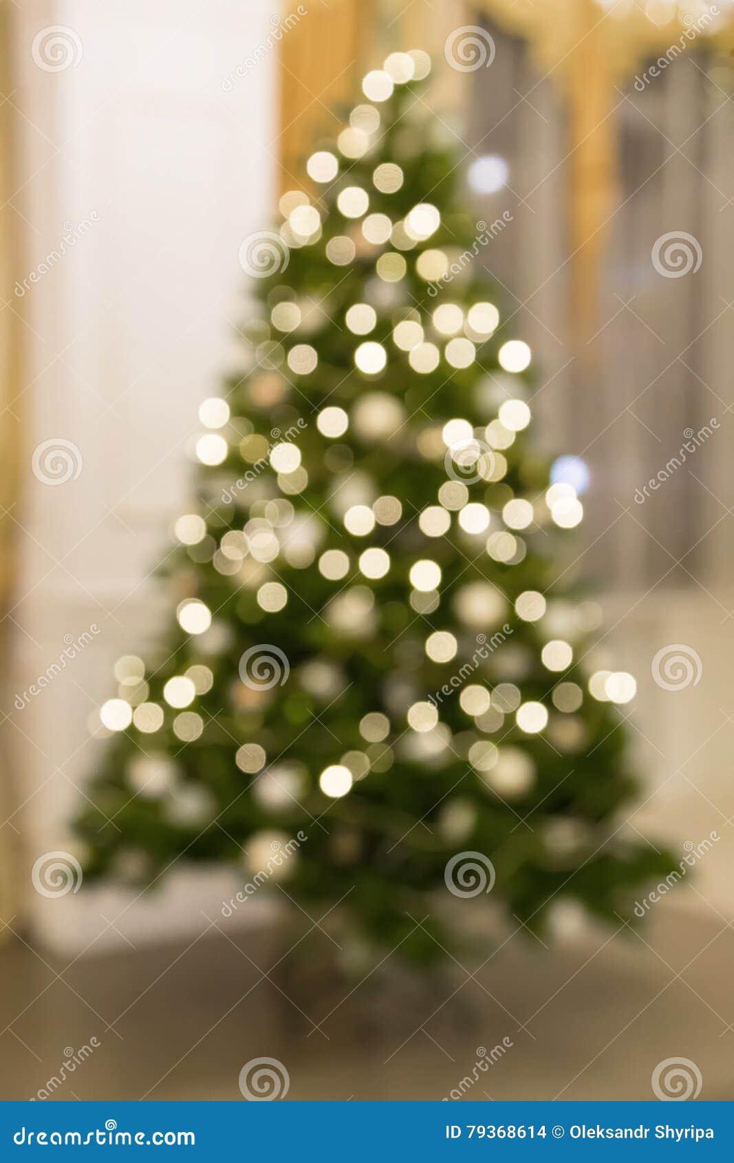 Árbol de navidad Bokeh