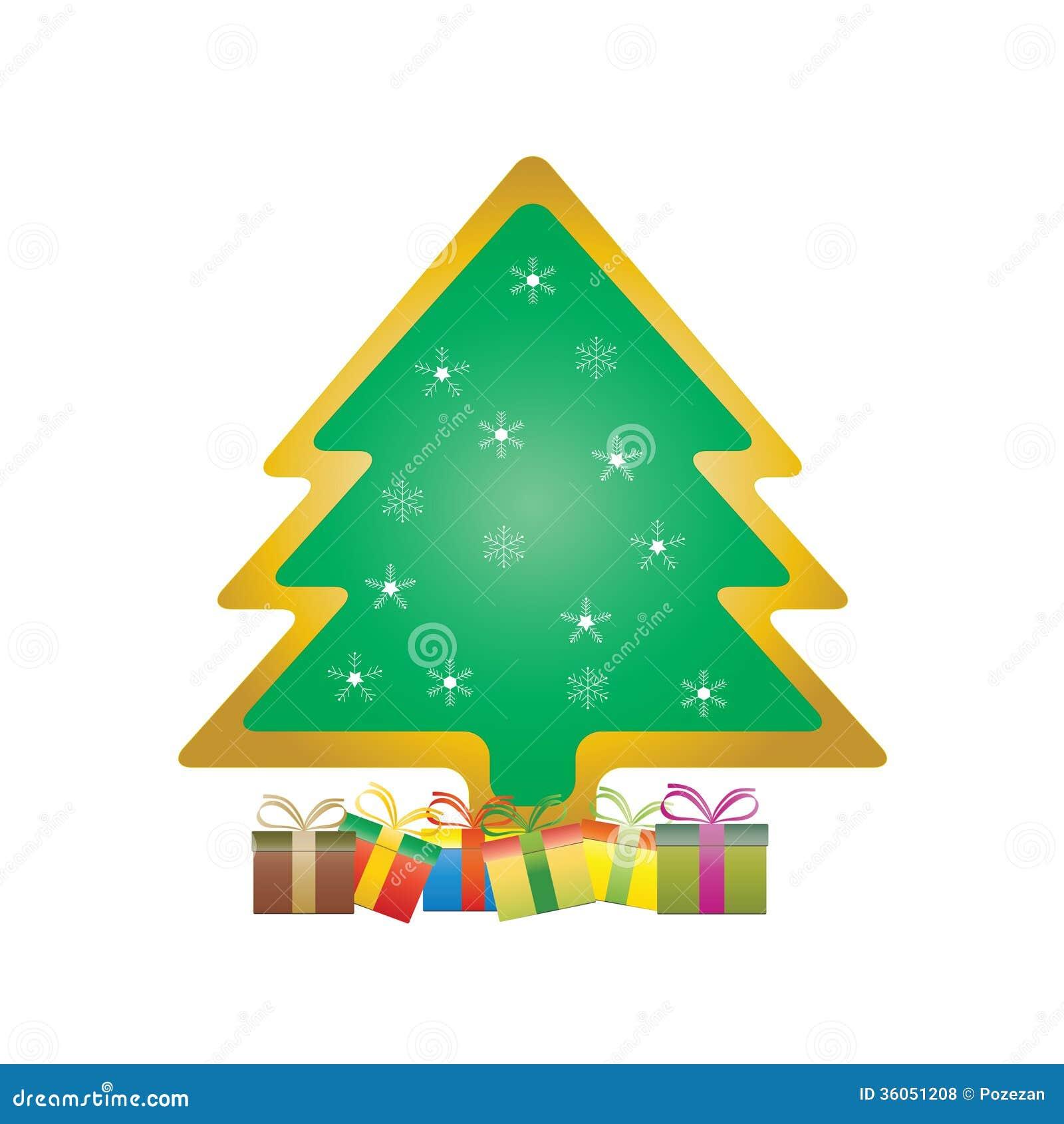 Rbol de navidad con los regalos fotos de archivo libres - Arbol de navidad con regalos ...