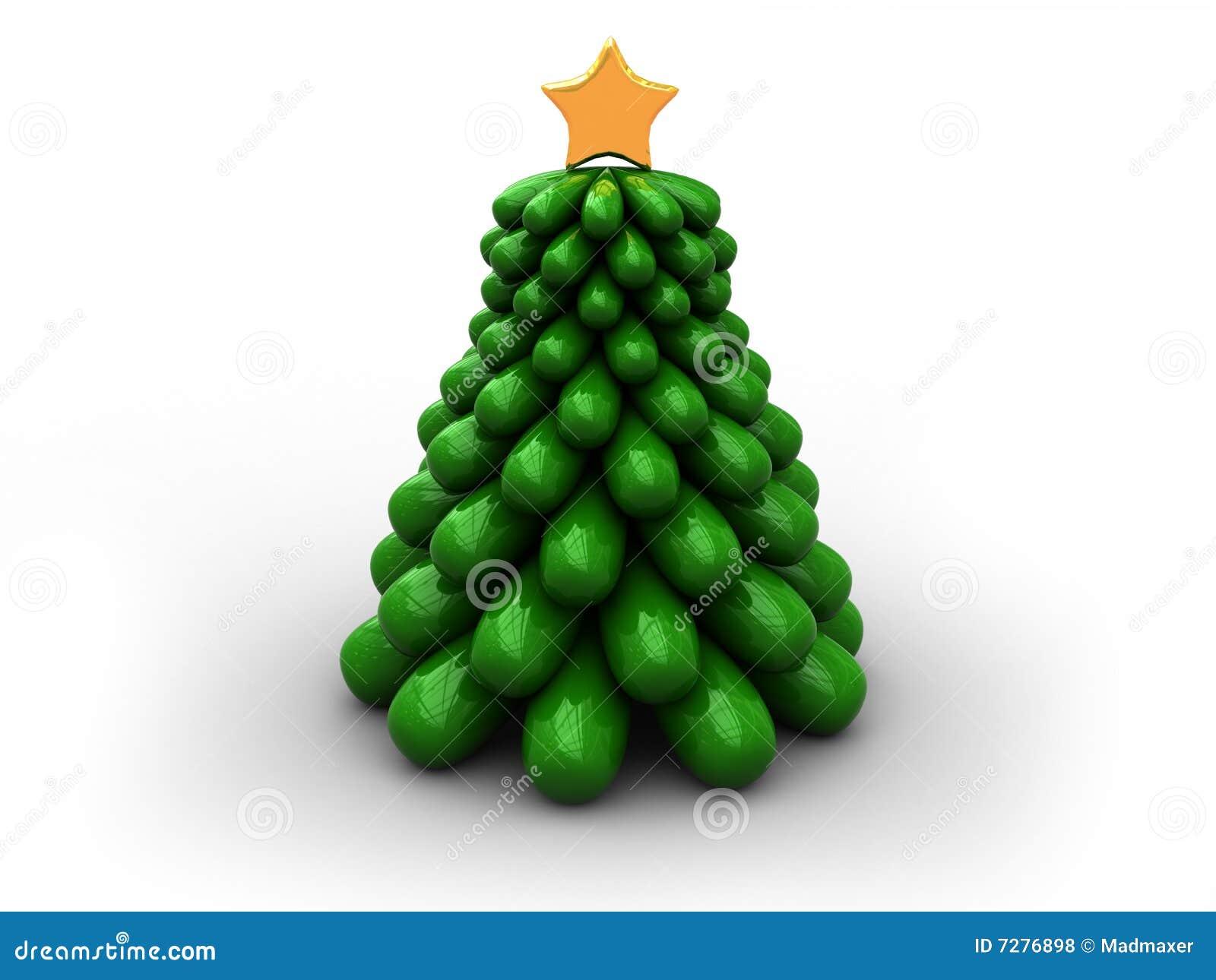 Árbol de navidad de Stilized