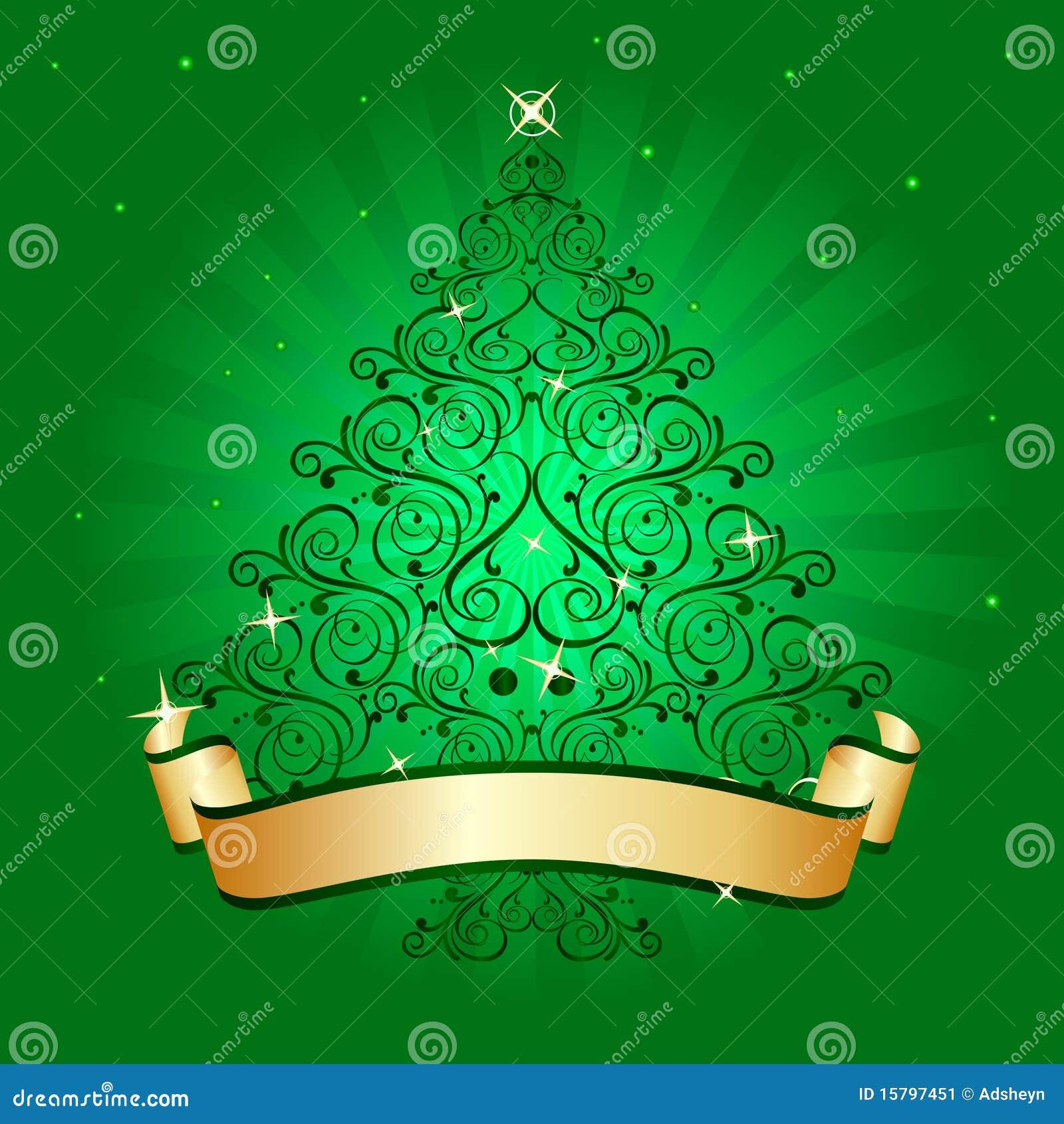 Rbol de navidad verde claro imagen de archivo imagen for Arbol navidad verde