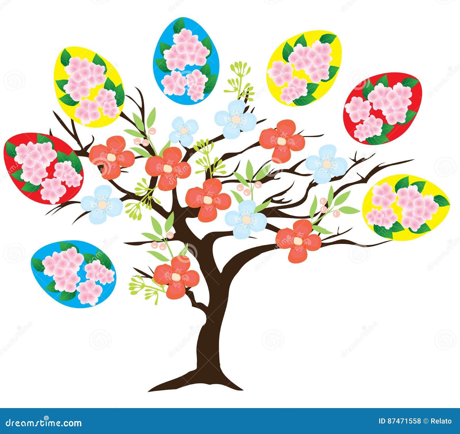 Árbol de Pascua del vector
