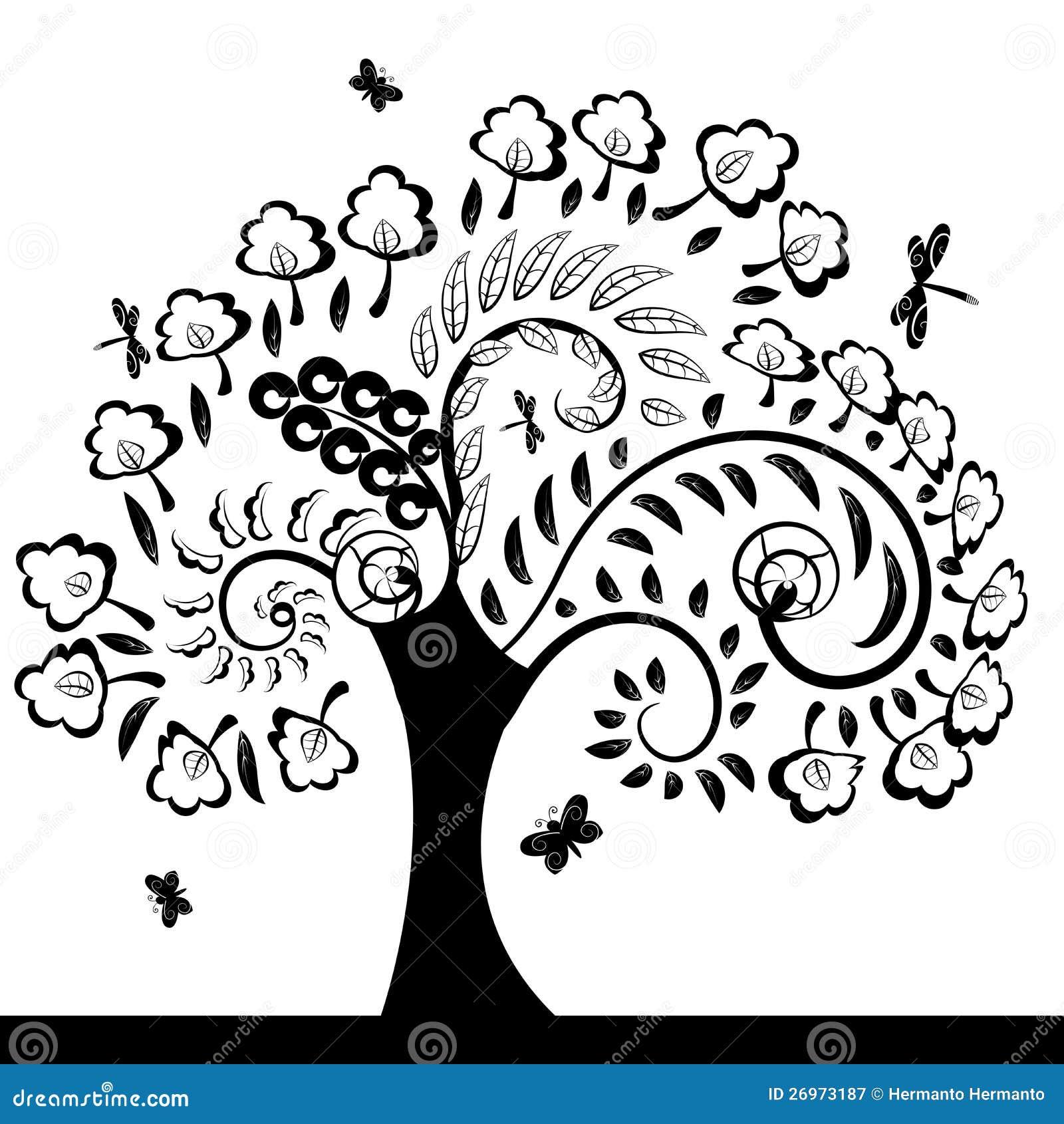 Árbol floral